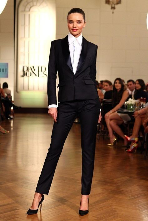 White Tie! I wouldn't try that length & the straight cut torso on your jacket though if you've got any sort of curves.