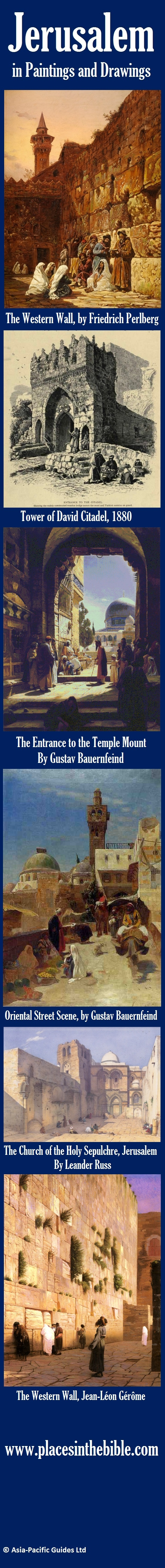 36 best jerusalem worlds holiest city images on pinterest selected paintings and drawings of holy sites in jerusalem fandeluxe Ebook collections