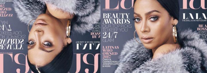Lala Made the Cover of Latina Magazine - My Fashion Cents