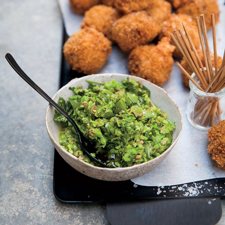 Freekeh Fritters with Spring Pea Relish | Recipe | Spring, Wine and ...