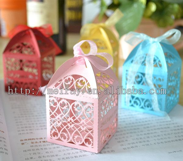 Cheap candy window boxes, Buy Quality candy cushion directly from China candy box wedding Suppliers: classic laser cut first holy communion souvenirs first communion candy boxes &n