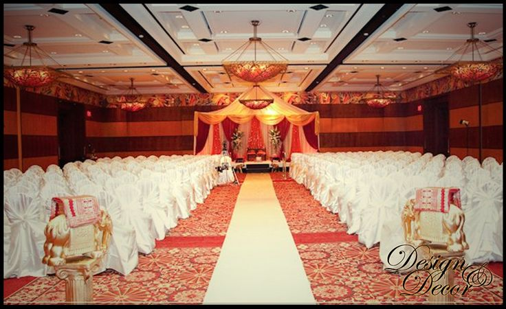 A modern Maandap, where we opened the front of the 4 posted frame to be more visible to the 500 guests. We call this an open frame maandap. Weddingat Hilton Hotel, Casino de lac Lemay, Hull Quebec Canada