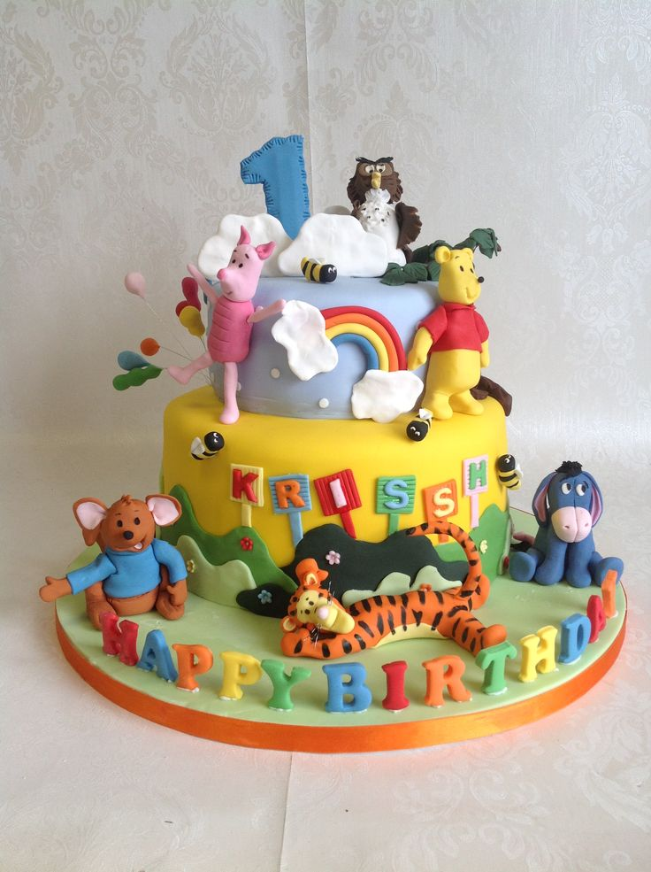 Best Winnie The Pooh Cakes Images On   Cake Cakes And