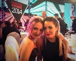 Con lali en los premios de martin fierro 2014