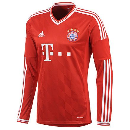 2013-2014 Bayern Munich Adidas Home Long Sleeve Football Shirt http://www.arhikultura.org/new-2013-2014-bayern-munich-adidas-home-long-sleeve-football-shirt-shop-p-268.html