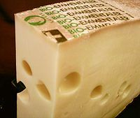 Emmental - This is the cheese we imagine first!