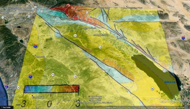 Re-thinking Southern California earthquake scenarios in Coachella Valley, San Andreas Fault | #GeologyPage