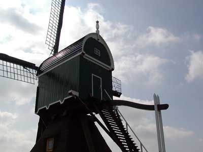 A very old Mill in Gouda