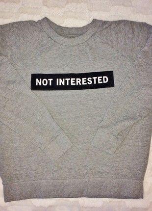 Kup mój przedmiot na #vintedpl http://www.vinted.pl/damska-odziez/bluzy/20840531-bluza-school-not-different-s-jak-nowa-szara-welur