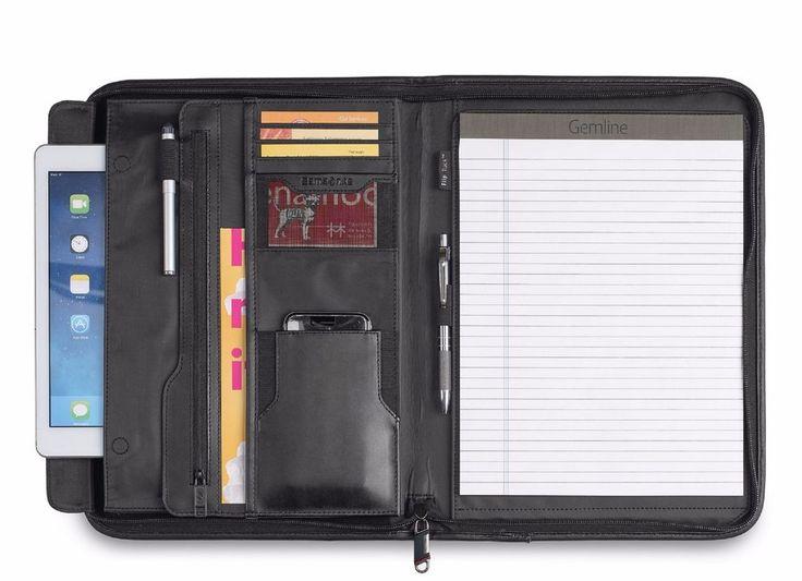 Samsonite Parker Leather Padfolio w/ Interior scratch-resistant pocket   - New #Samsonite #Padfolio