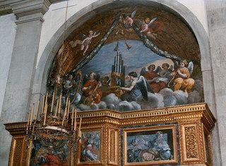 Arezzo, Toscana, Chiesa di Santa Maria in Gradi, organ gallery