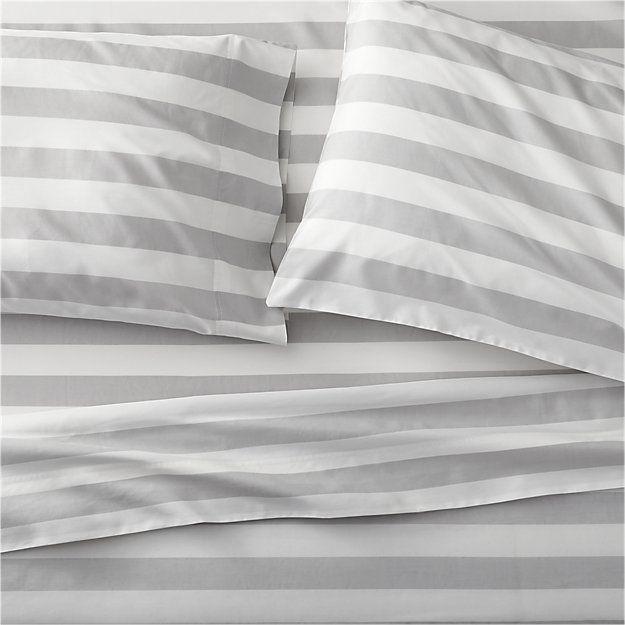 marimekko kesahelle grey queen sheet set - Queen Bed Sheets