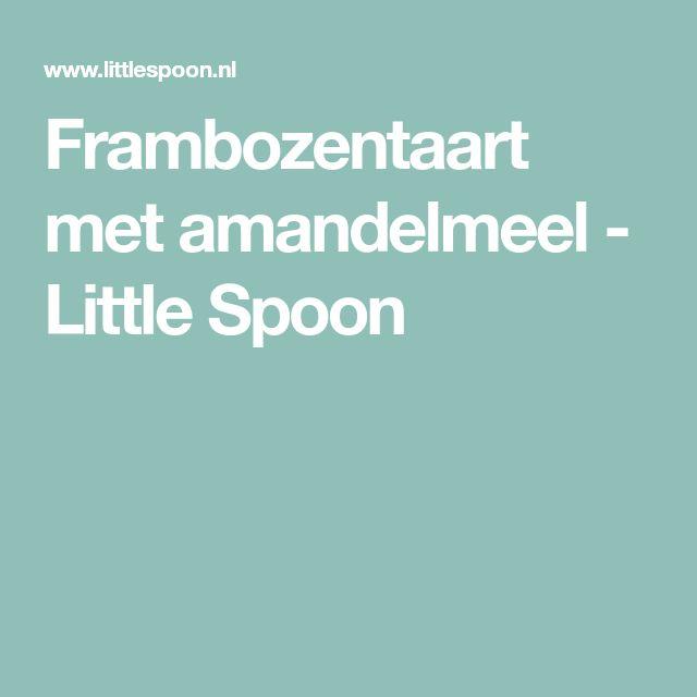 Frambozentaart met amandelmeel - Little Spoon