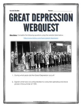 an introduction to the history of great depression in the american history Causes and effects of the great depression in the united states 1238 words | 5 pages the great depression is a defining moment in time for not only american, but world history.