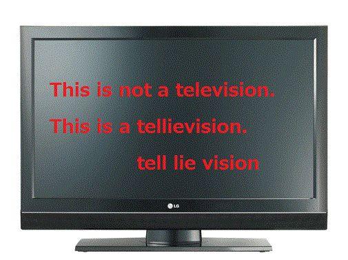 TV=ウソ発信機