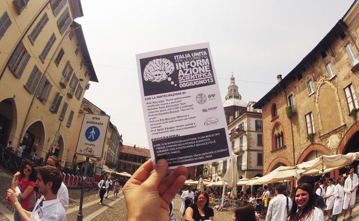 Programma di #italy4science a #Pavia