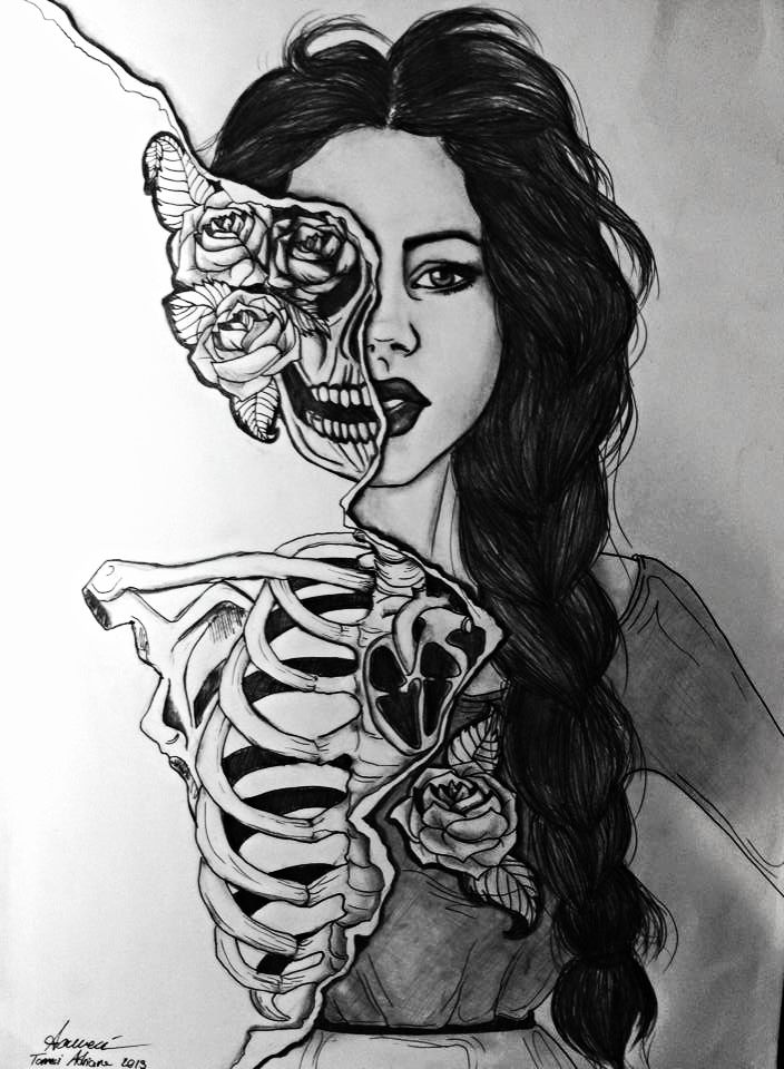 My next charcoal project. Although I was hoping to stencil on graphite paper onto the canvas and paint.