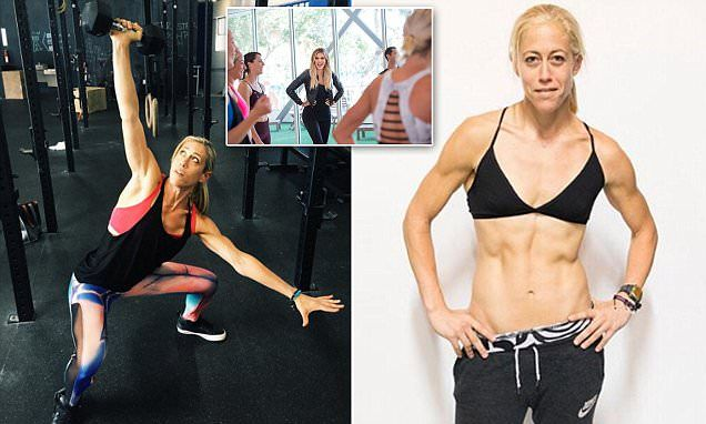 Lacey Stone (pictured), 37, whipped contestants into shape on Khloe's show. Her fitness philosophy derives from her own experiences recovering from a painful divorce five years ago.
