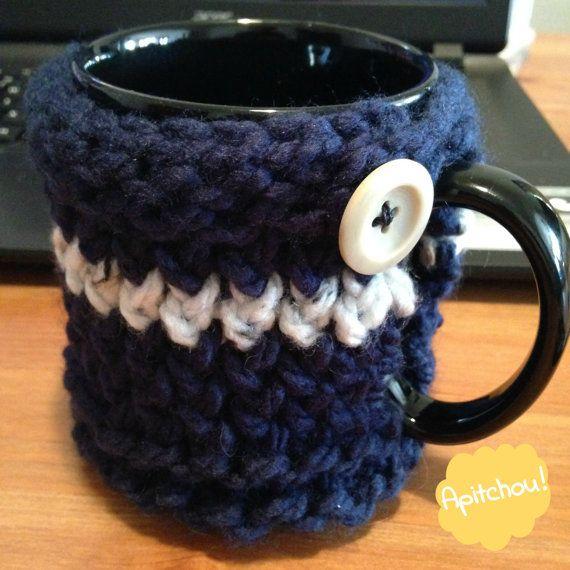 Cozy mug  Tasse confortable par Apitchou sur Etsy