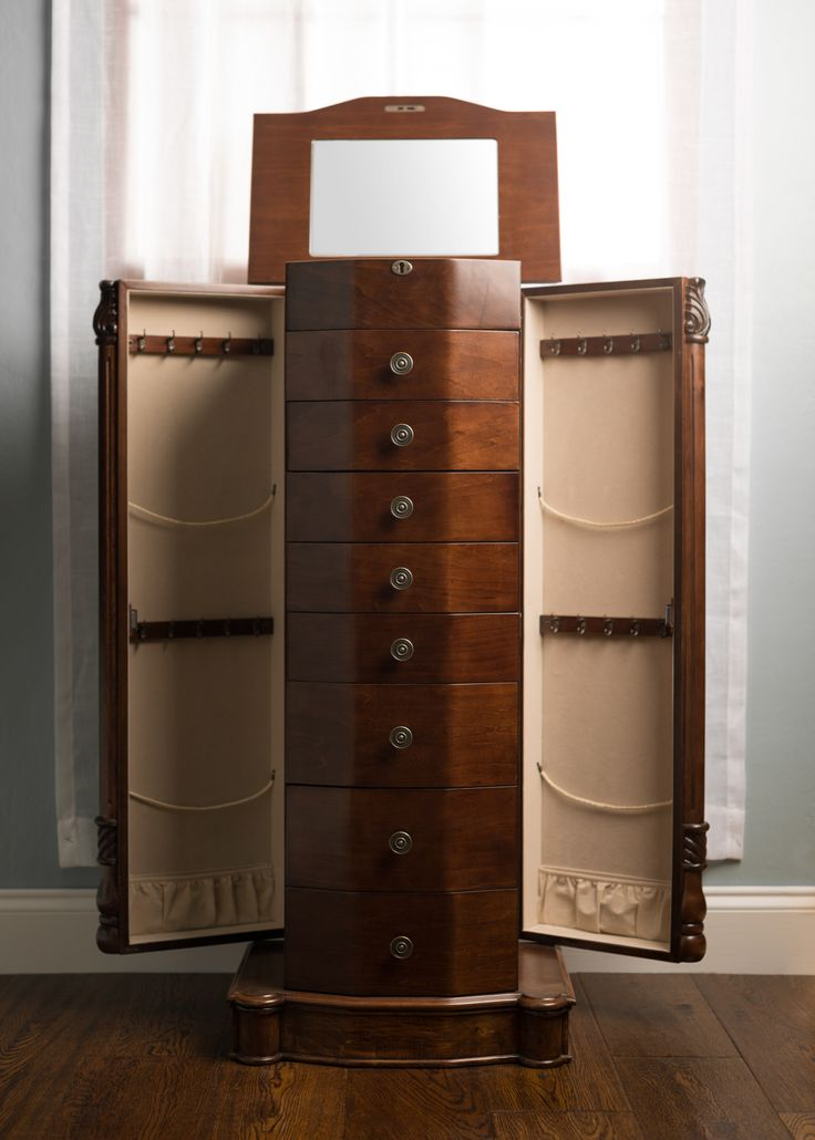 13 best Armoires images on Pinterest Jewelry armoire Jewelry