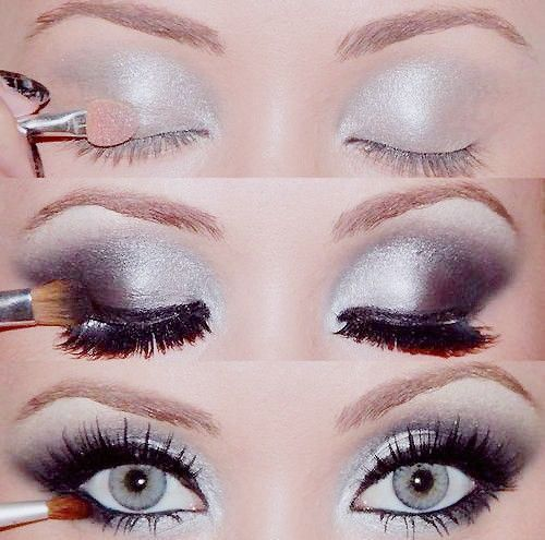 Smokey eyes  #makeup