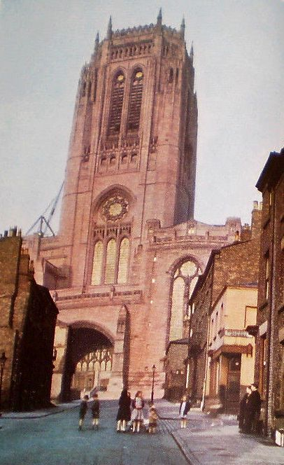 1953, Liverpool Cathedral (one of the two)