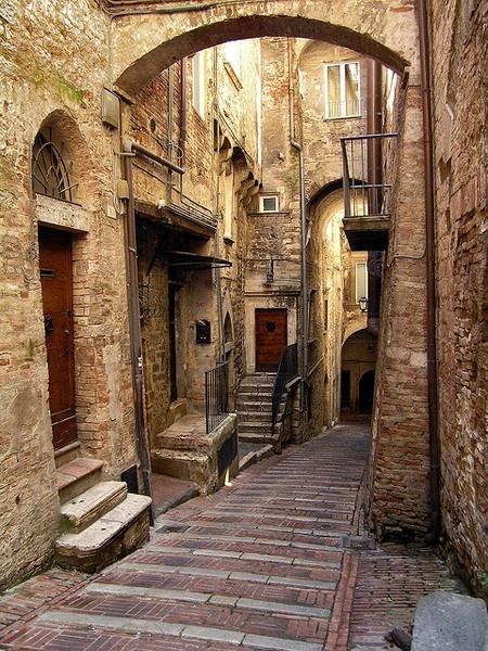 Medieval Village, Perugia,Italy