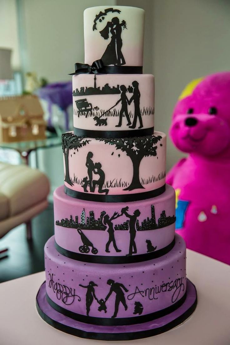 Parties by Paris: Wedding Cakes that Tell a Story
