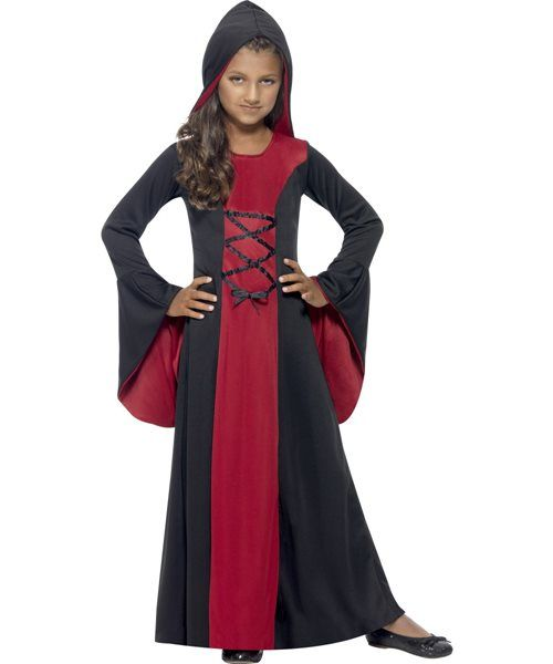 Age 4 black dress vampire
