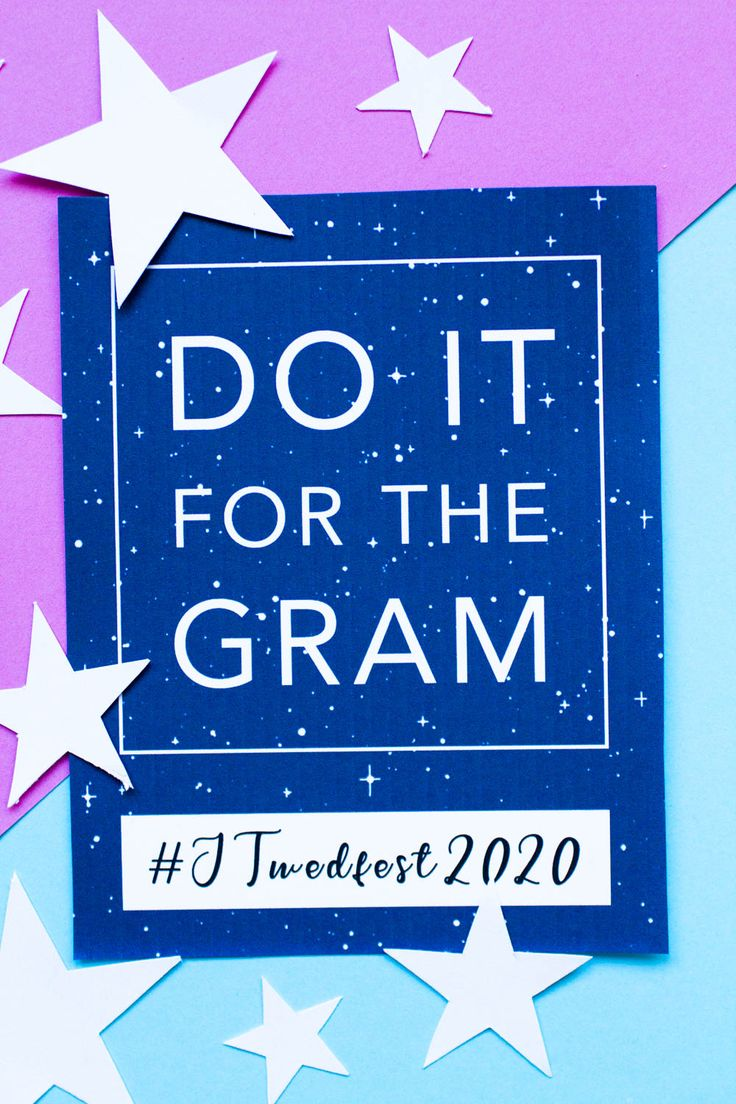 FREE PRINTABLE STAR THEMED WEDDING HASHTAG SIGN in 2020