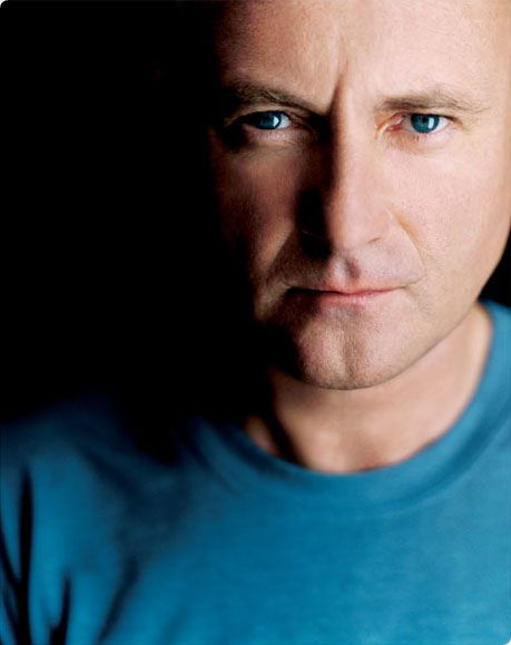 Phil Collins-don't care what he looks like, I just LOVE HIM...he has the 'voice of an angel'..the hero of My generation...xo