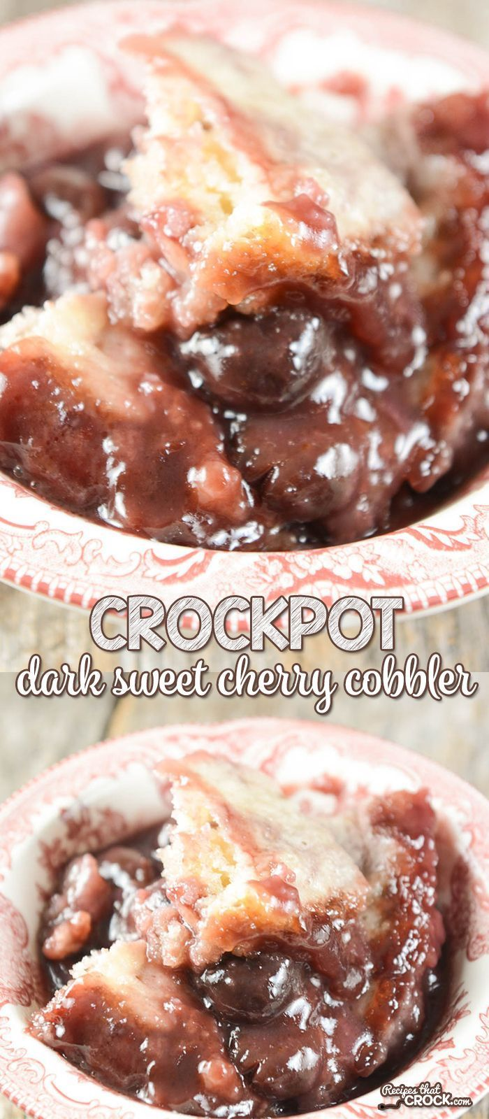 Are you a fan of dark sweet cherries? Our Crock Pot Dark Sweet Cherry Cobbler is…