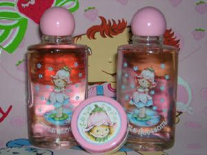 Avon Little Blossom Perfume and Blush.