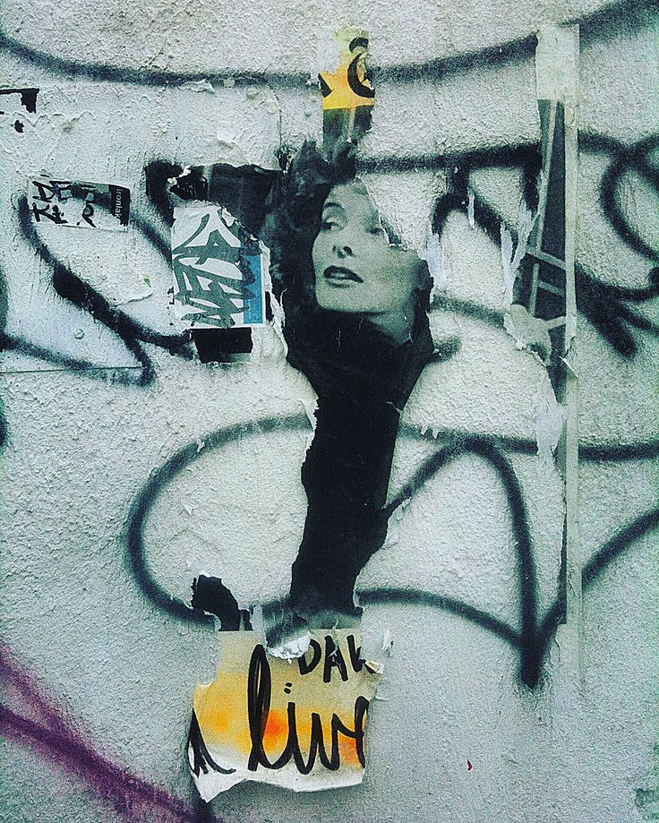 Urban Decay New York. Photo of the ever-changing urban landscape of NYC. ( graffiti, art, stencil, street art, chaos, new york city, wall art, mural, Katherine Hepburn )