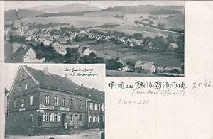... Wald-Michelbach im Odenwald mit Gasthaus zur Starkenburg 1916 | eBay