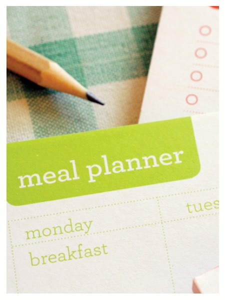 Meal Planner | The Paperface
