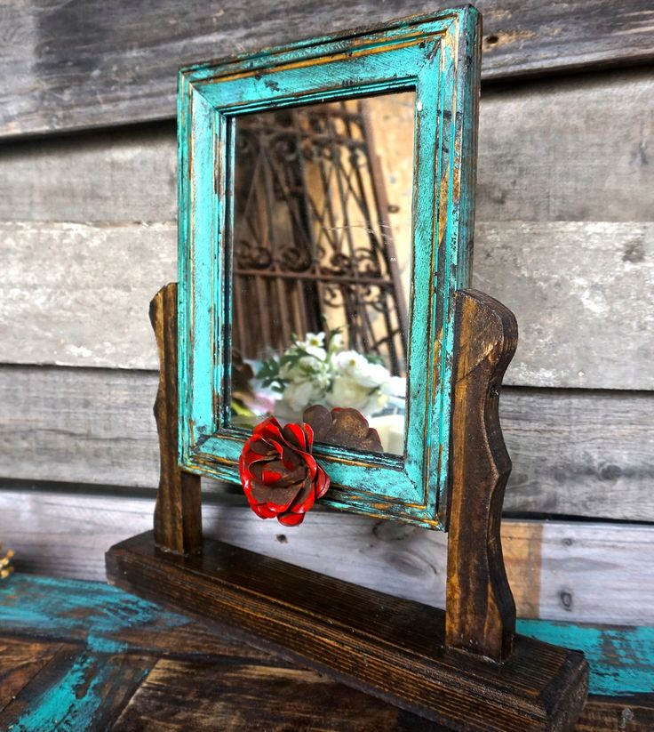 Senorita Swing Mirror - Sofia's Rustic Furniture