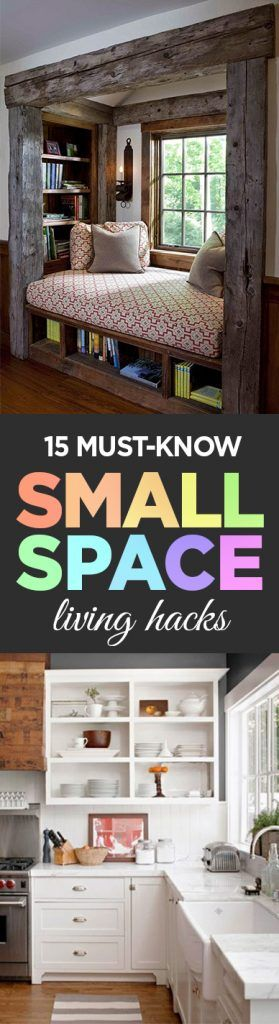 Small Space Living, Small Space Living Hacks, Organization, Organization Tips, Organization Hacks, Home Organization, Popular Pin, Home Organization Ideas, Home Hacks