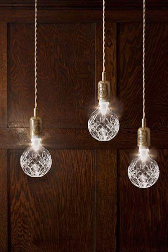 Crystal Bulb and Pendant Light