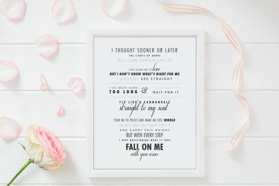 Fall On Me By Andrea Bocelli Matteo Bocelli Personalized