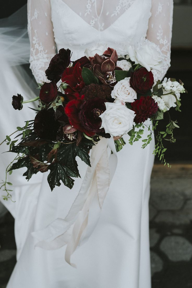 Catherine & Dylan. Bouquet by Emma Blake Floral / Photography by All Grown Up Weddings