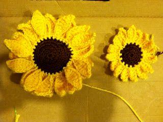 Crochet Sunflower patterns