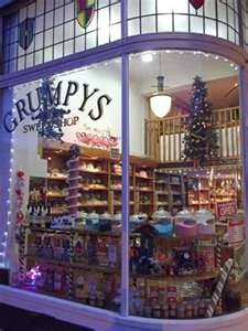 what candy stores look like in the UK - color, color, color!!