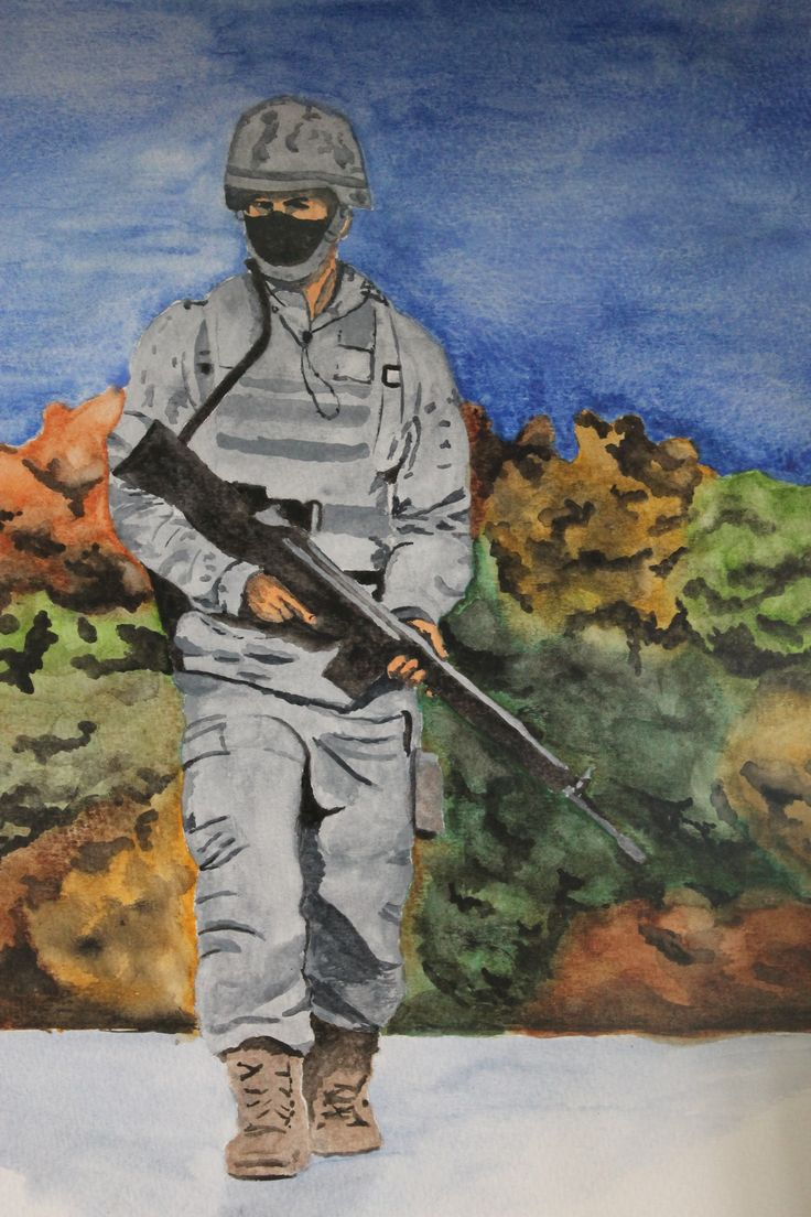 Soldado mexicano