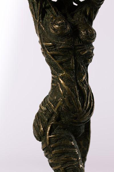 Filippo Vieri | MATER: bronzo e travertino - 2007 - H. 50 cm. Photo: stefanocasati.com