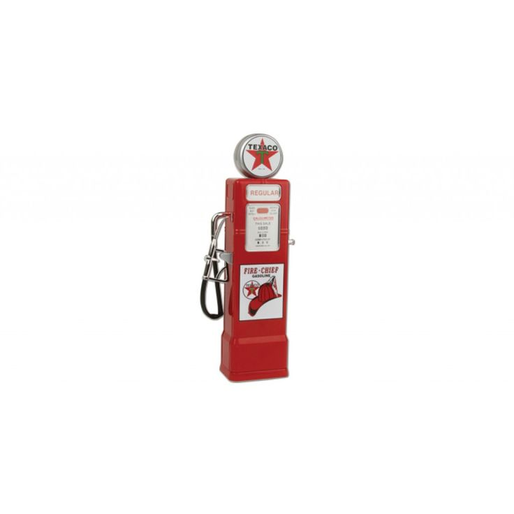 Texaco 1950s Gas Pump Bank 1:8 Scale Diecast Model by OK Toys