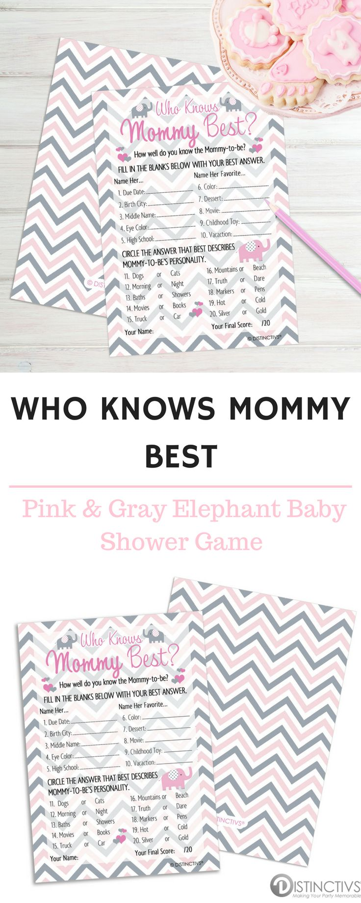 How Well Do Your Baby Shower Guests Know Mommy To Be? Fill In