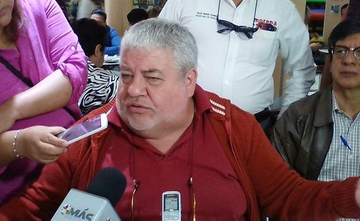 El dirigente de Morena, Manuel Huerta Ladrón de Guevara, dijo que los ediles son quienes deben estar a cargo de las policías municipales y no el estado como actualmente se hace.