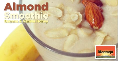 Did you know that almonds Vitamins B2 and E work to boost your immune system and reduce stress? Power up and de-stress with this delicious almond smoothie: http://montagudriedfruitnuts.co.za/almond-smoothie/
