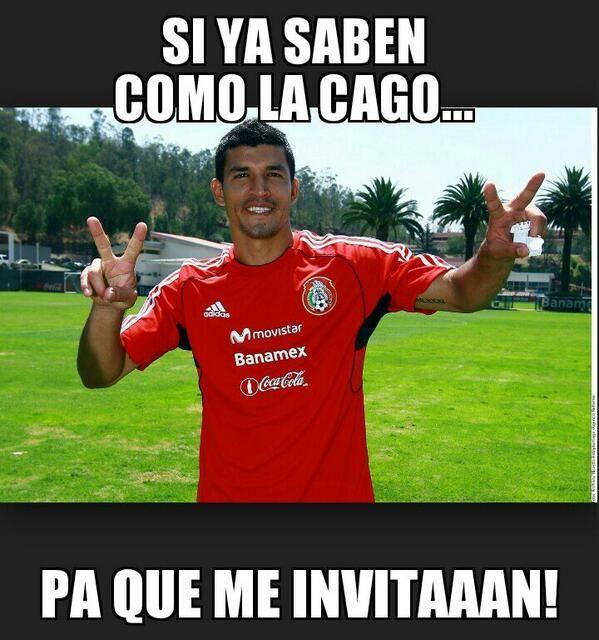 Me muero de risa! SELECCIóN MEXICANA – Los memes de la lista final de Miguel Herrera